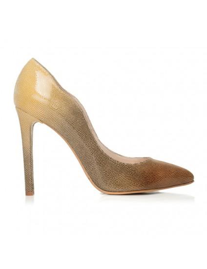 Pantofi piele stiletto Diva F9 - orice culoare