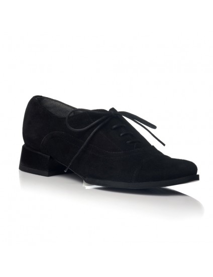 Pantofi Oxford Office piele intoarsa V19 - orice culoare