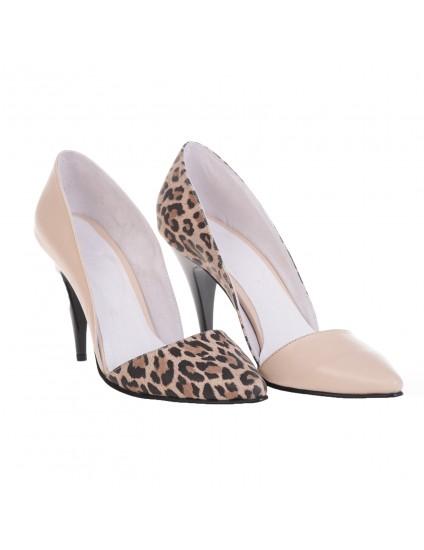 Pantofi Dama Stiletto M1 Piele Animal Print -  orice culoare