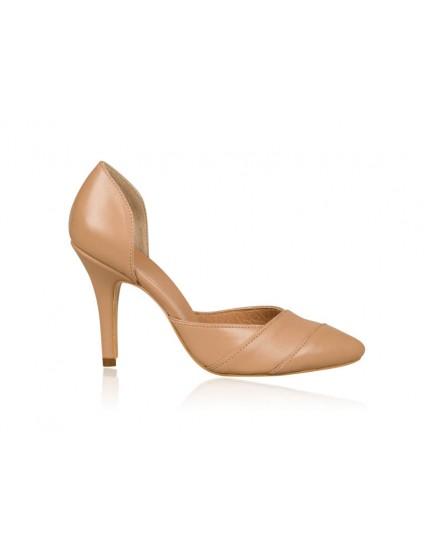 Pantofi Stiletto piele nude N22 - orice  culoare