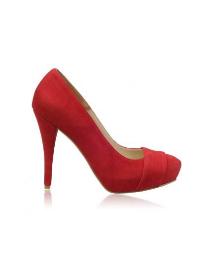 Pantofi  dama Model N 30 piele - orice culoare
