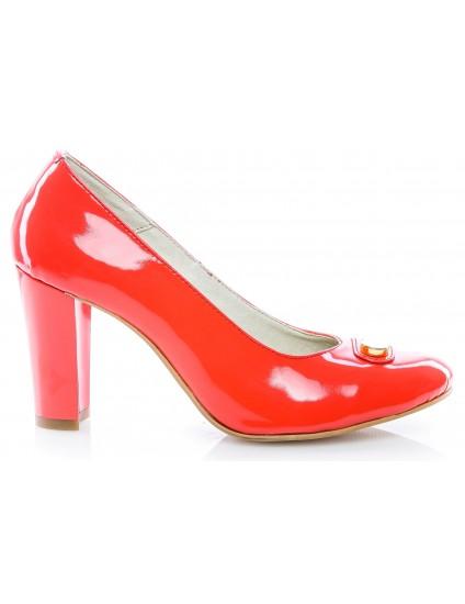 Pantofi dama lac Corai V15 - orice culoare