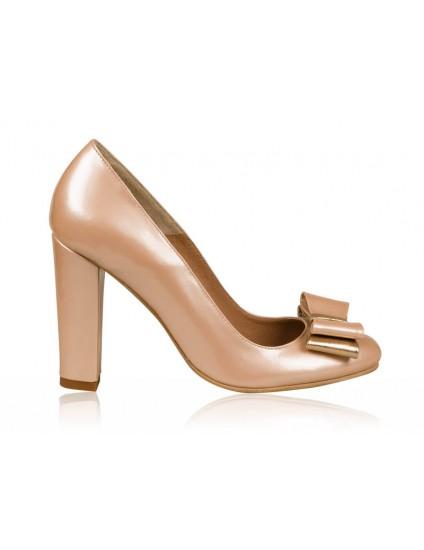 Pantofi dama piele Roze N1  - orice  culoare