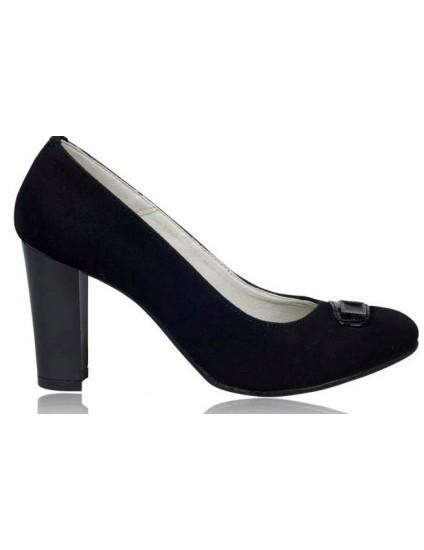 Pantofi dama piele Negru V15 - orice culoare