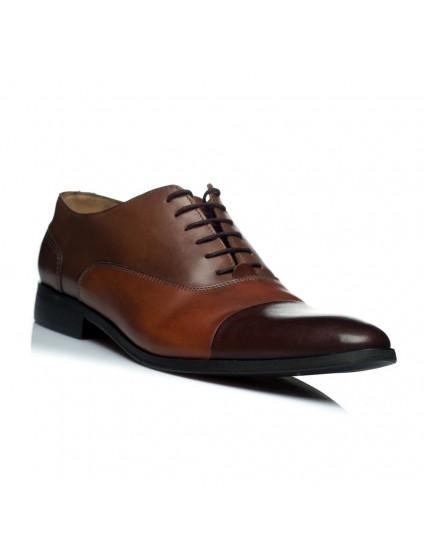 Pantofi piele barbati maro Filip