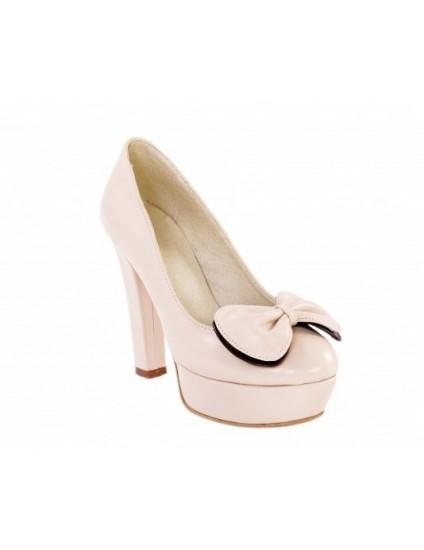 Pantofi fundita vintage,piele naturala,orice culoare