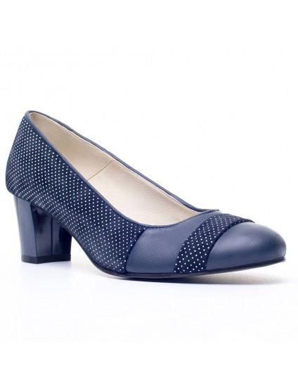 Pantofi dama piele bleumarin office P9 - orice culoare