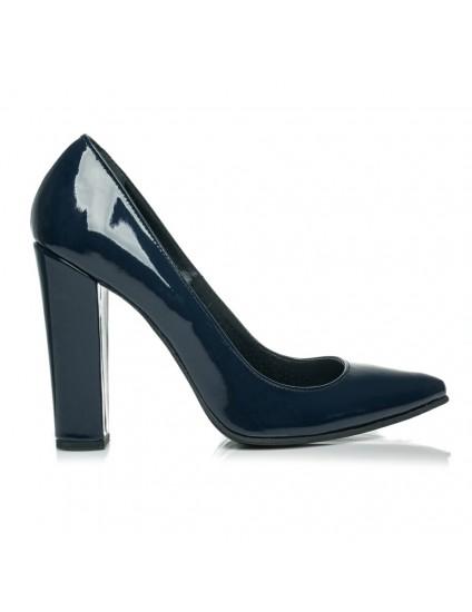 Pantofi Piele Stiletto M3 Bleumarin - orice culoare