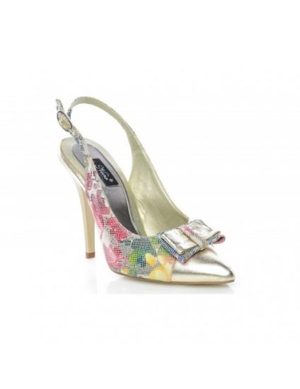 Pantofi  piele Stiletto Color S1 - orice  culoare
