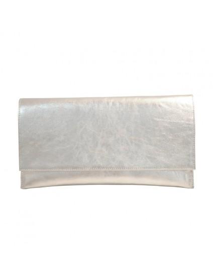 Plic Piele Naturala Argintiu D1 - orice culoare