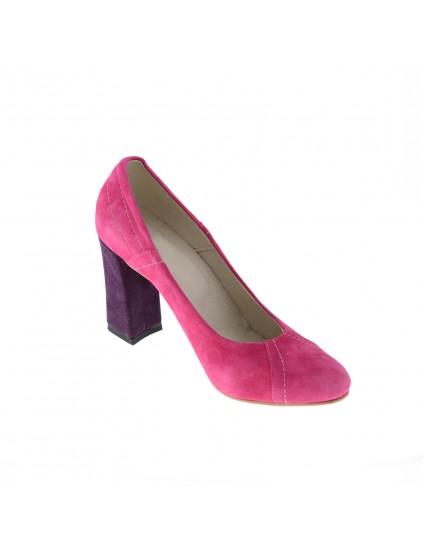 Pantofi Larson Color  piele naturala, disponibilii pe orice culoare