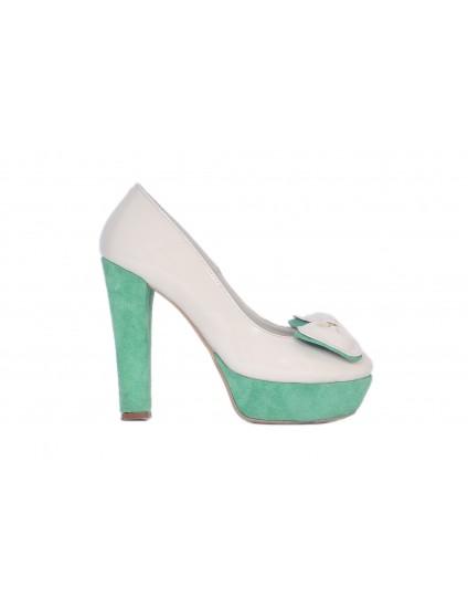 Pantofi fundita vintage piele naturala - orice culoare