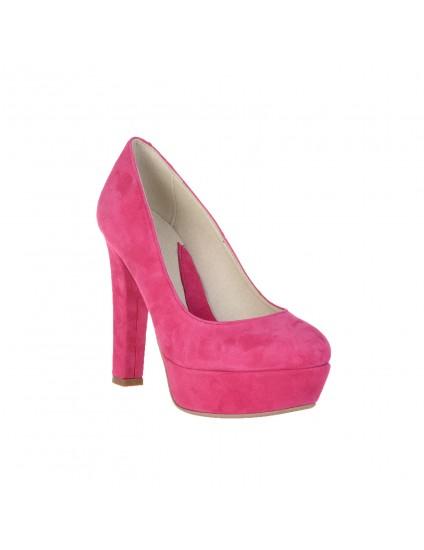 Pantofi piele naturala Livi  Fuchsia  - orice culoarea