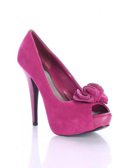 Pantofi Rufle piele naturala,disponibili pe orice culoare