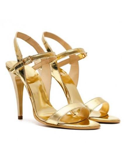 Sandale Dama Piele Auriu Anne - orice culoare