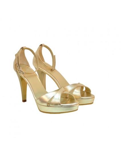 Sandale dama piele DM5  Ivory- pe stoc