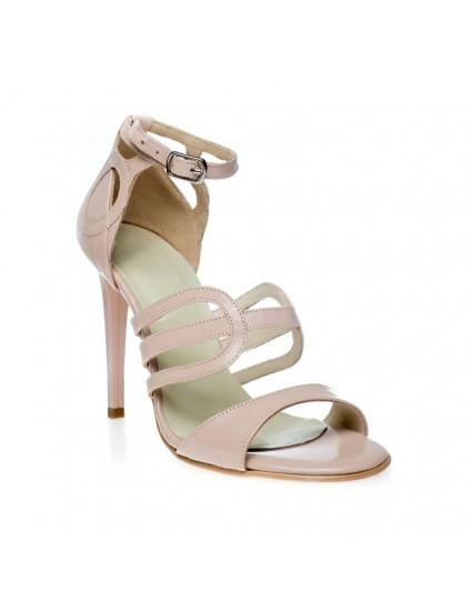 Sandale dama piele Liz Nude C1 - Orice culoare