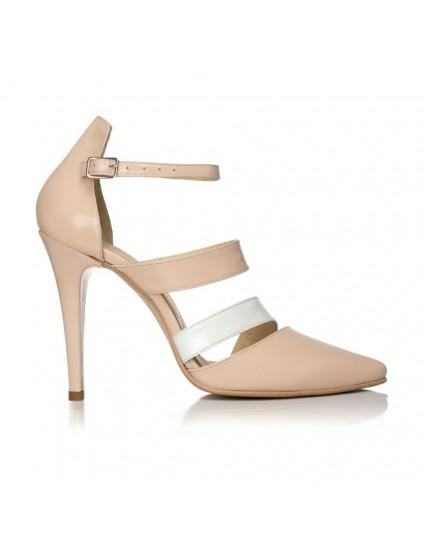 Pantofi dama piele Style Nude F14 - Orice culoare