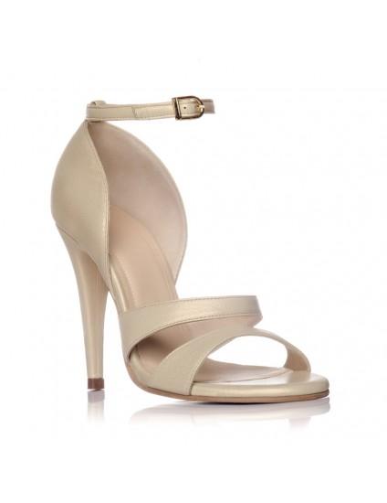Sandale Dama Piele Auriu Ammy - pe stoc