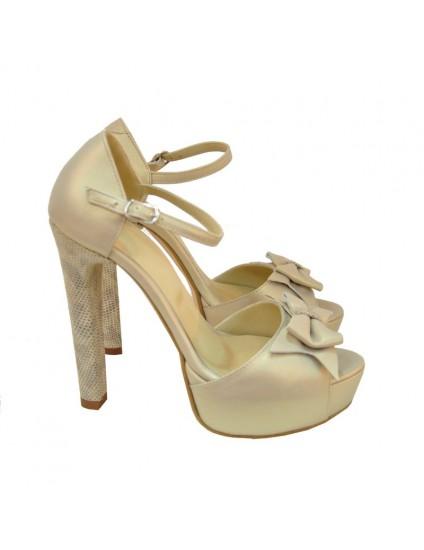 Sandale piele nude Chic D2 - disponibile pe orice culoare