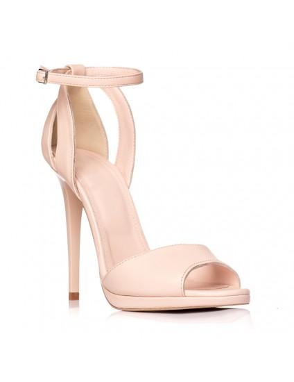 Sandale dama piele nude Lola S2 - pe stoc
