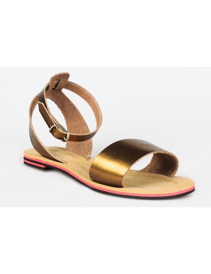 Sandale dama talpa joasa Style2 Auriu  -  orice culoare