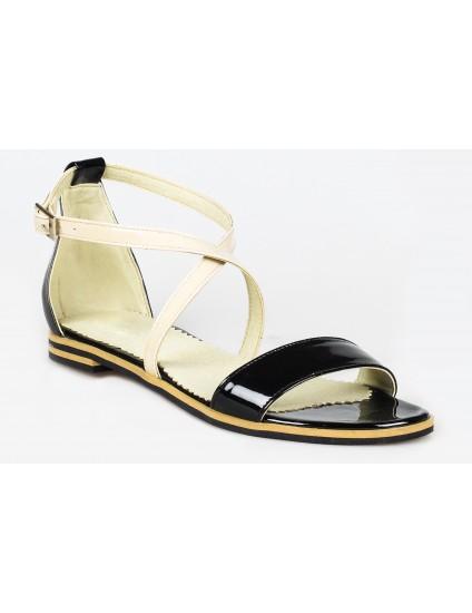 Sandale dama talpa joasa piele P10 - pe stoc