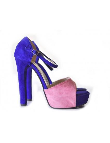 Sandale piele intoarsa Modern 5