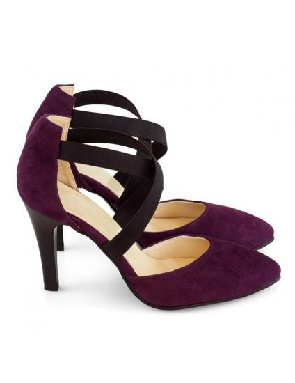 Pantofi Dama Piele Purple Haze D20 - orice culoare
