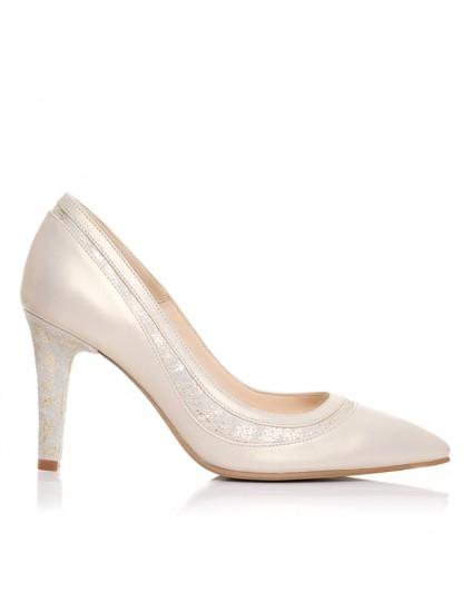 Pantofi Stiletto piele Glam F7 - orice culoare