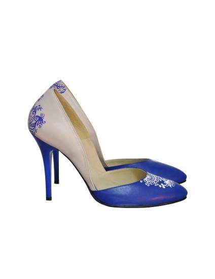 Pantofi Dama D113 Piele Naturala - orice culoare