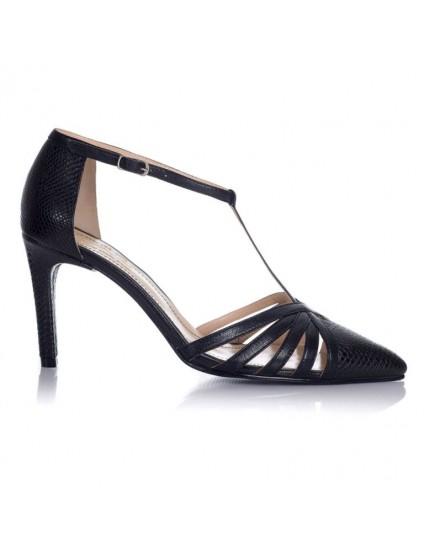 Pantofi Stiletto piele Retro F5 - orice culoare