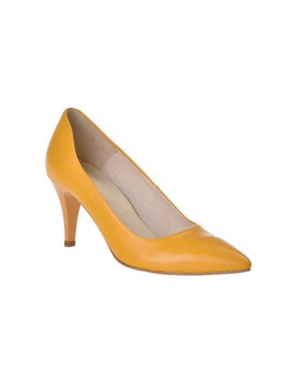 Pantofi piele naturala Mini Stiletto - pe stoc