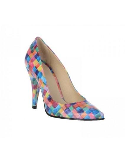 Pantofi Mini Stiletto Picasso piele - pe stoc