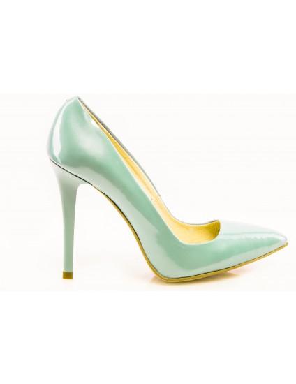 Pantofi Stiletto Very Chic Verde Mint - disponibili pe orice culoare