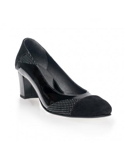 Pantofi piele Comod Buline - orice culoare