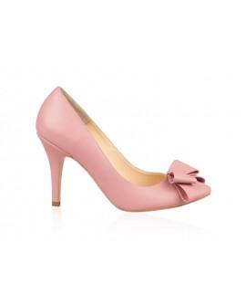 Pantofi Stiletto  Piele Blush Funda N82 - orice culoare