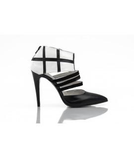 Pantofi Stiletto Boots Piele Naturala - Orice culoare