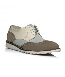Pantofi barbati golf sneakers crem