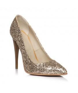 Pantofi Stiletto Glam Auriu  - orice culoare