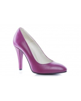 Pantofi Stiletto mov piele naturala Casual - orice culoare