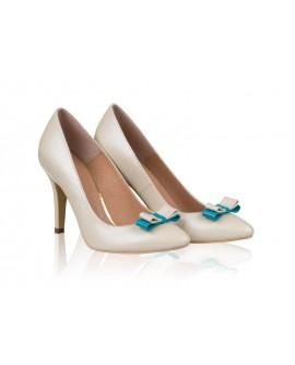 Pantofi mireasa N22 Blue Surprise - orice culoare