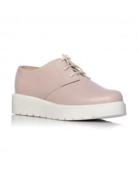 Pantofi piele nude Oxford V14 - orice culoare