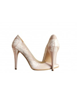Pantofi pictati manual Just Married - orice culoare