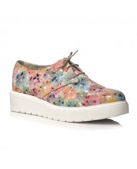 Pantofi piele Flower Oxford V14 - orice culoare