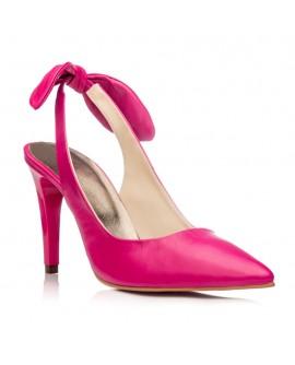 Pantofi Stiletto Decupat Piele Ciclam C20 - orice culoare