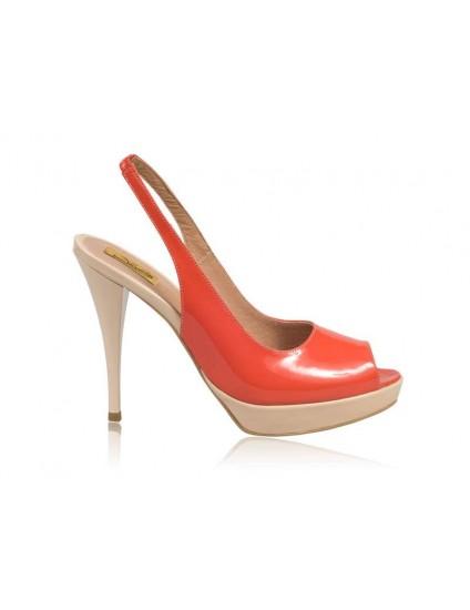 Sandale Dama Piele Lacuita N9  - orice culoare