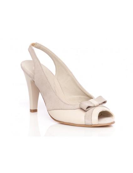 Pantofi piele P22 Corai - orice culoare