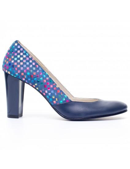 Pantofi dama piele Multicolor V11 - orice  culoare