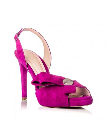 Sandale Dama Piele Elegante Fuchsia F25  - orice culoare